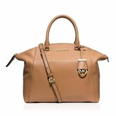 MICHAEL Michael Kors Satchel - Riley Pebbled Large