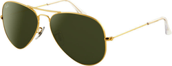 Ray-Ban RB3025 Aviator Large Metal Non-Polarized Sunglasses