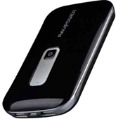 RAVPower RP-PB04 10000mAh 3.1A Power Bank fit for iPad 4, iPhone 5, iPhone 4S, Samsung Galaxy S4