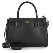 Vince Camuto Small Tab-Detailed Leather Satchel