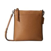 COACH Bleecker Pebbled Leather North/South Swingpack