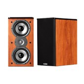 "Polk Audio TSi200 2-Way Bookshelf Speaker with Dual 5-1/4"" Drivers - Pair (Cherry)"