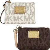 Michael Kors Jet Set Wristlet | Brown Or Vanilla NWT