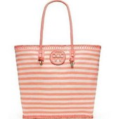 Tory Burch OVERSIZED STRIPE TOTE
