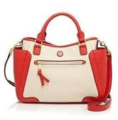 FRANCES CANVAS SMALL SATCHEL