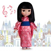 ''it's a small world'' Japan Singing Doll - 16''