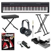 Yamaha P Series P105B 88 Keys Digital Piano in Black + Accessory Kit